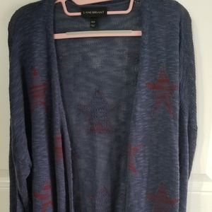 Lane Bryant sweater stars